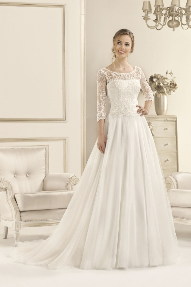 wedding dress 17097T Wyprzedaż