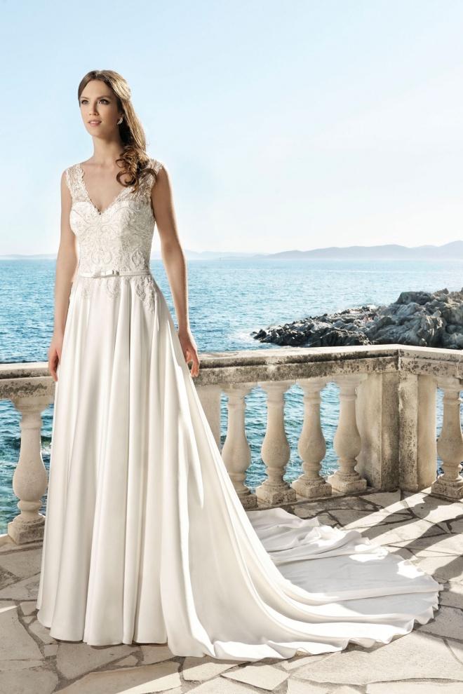 wedding dress 17102T Wyprzedaż
