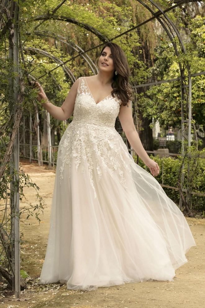 Suknia ślubna LO-215T Agnes