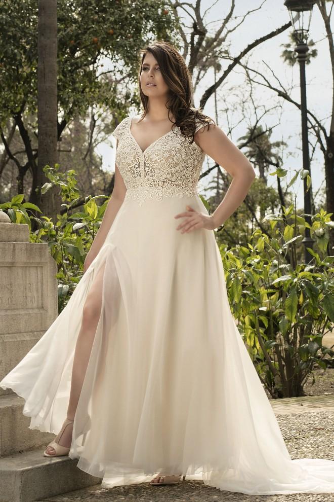 Suknia ślubna LO-210T Agnes