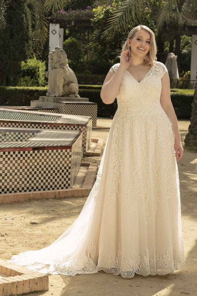 Suknia ślubna LO-199T Agnes
