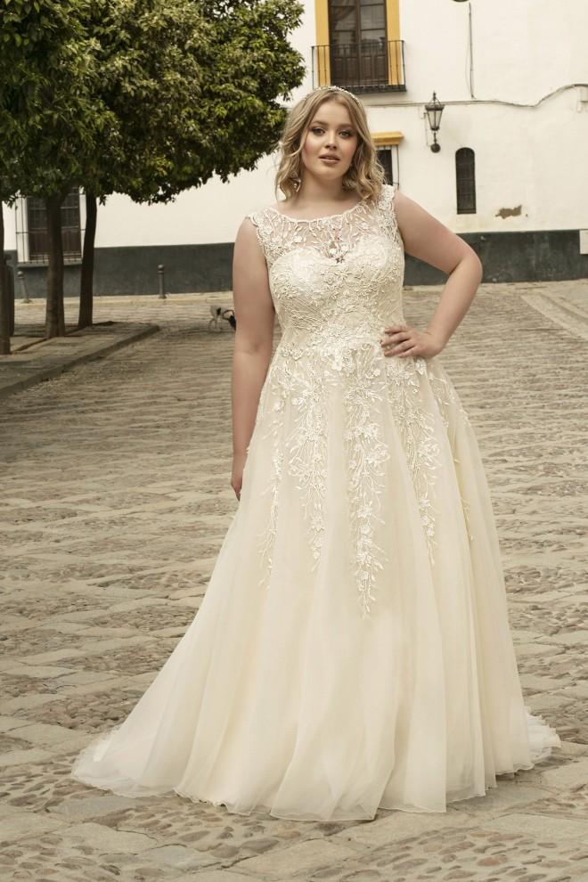 Suknia ślubna LO-198T Agnes