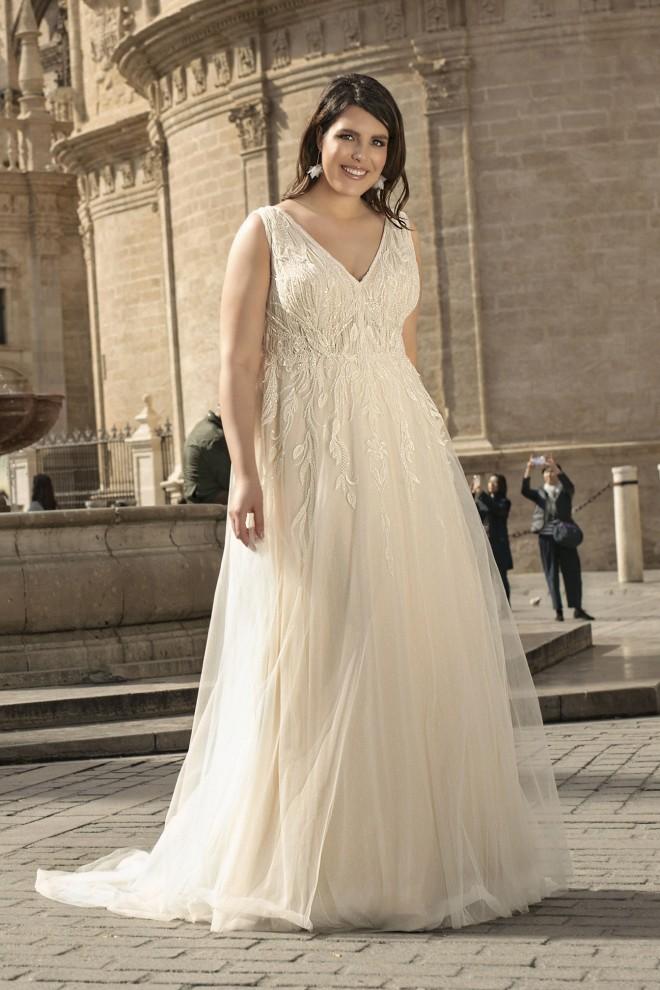 Suknia ślubna LO-192T Agnes
