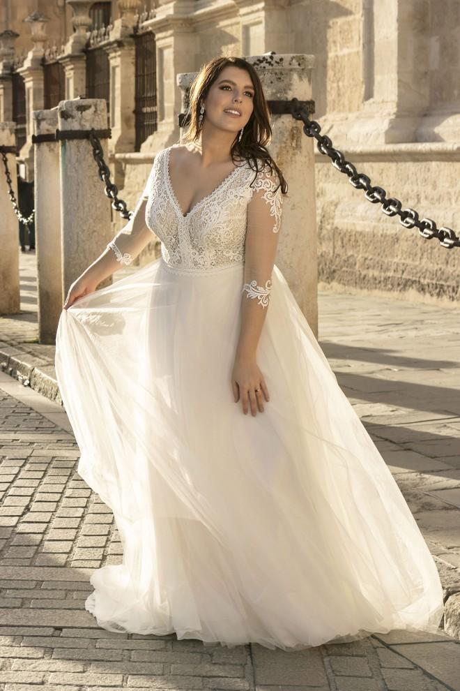 Suknia ślubna LO-191T Agnes