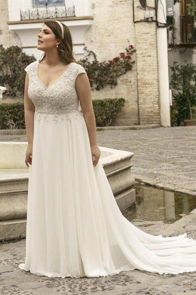 Suknia ślubna LO-233T Agnes