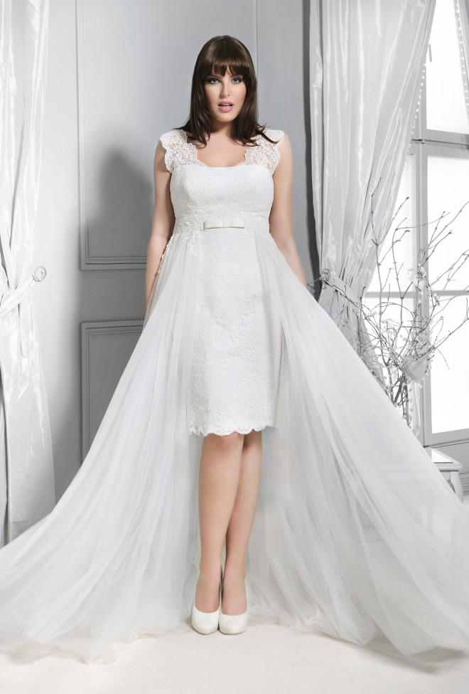 Lovely 2015 Kolekcja Sukni ślubnych Agnes Koronkowe Suknie ślubne