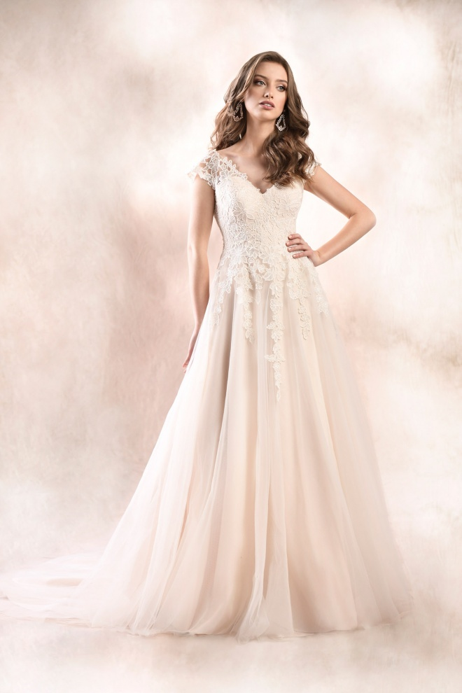 wedding dress KA-19029T Agnes Bridal Dream 2020