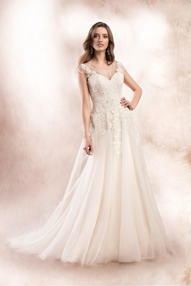 wedding dress KA-19031T Agnes Bridal Dream 2020