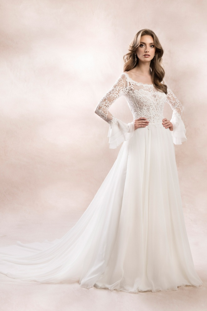 wedding dress KA-19050T T-128 Agnes Bridal Dream 2020