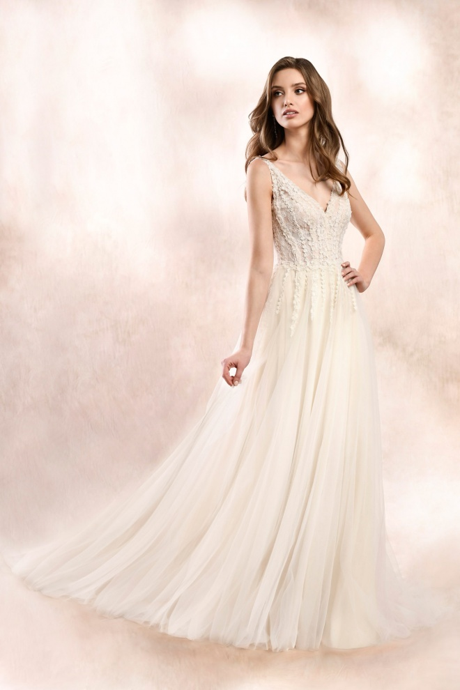 wedding dress KA-19052T Agnes Bridal Dream 2020