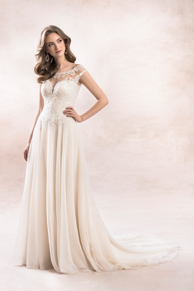 wedding dress KA-19054T Agnes Bridal Dream 2020