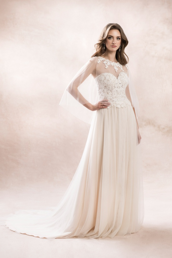 wedding dress KA-19056T N-82 Agnes Bridal Dream 2020
