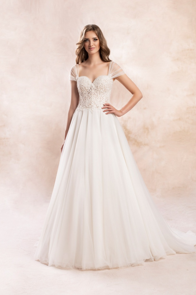 wedding dress KA-19147T Agnes Bridal Dream 2020