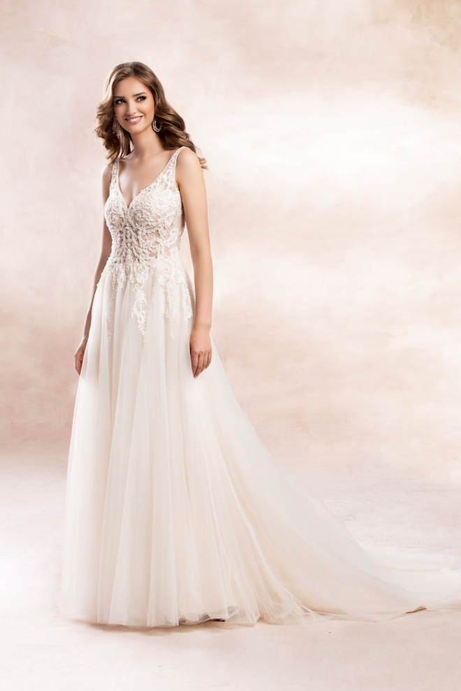 wedding dress KA-19151T Agnes Bridal Dream 2020