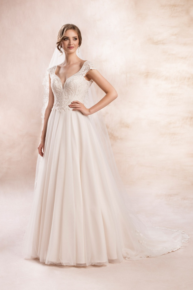 wedding dress KA-19153T Agnes Bridal Dream 2020