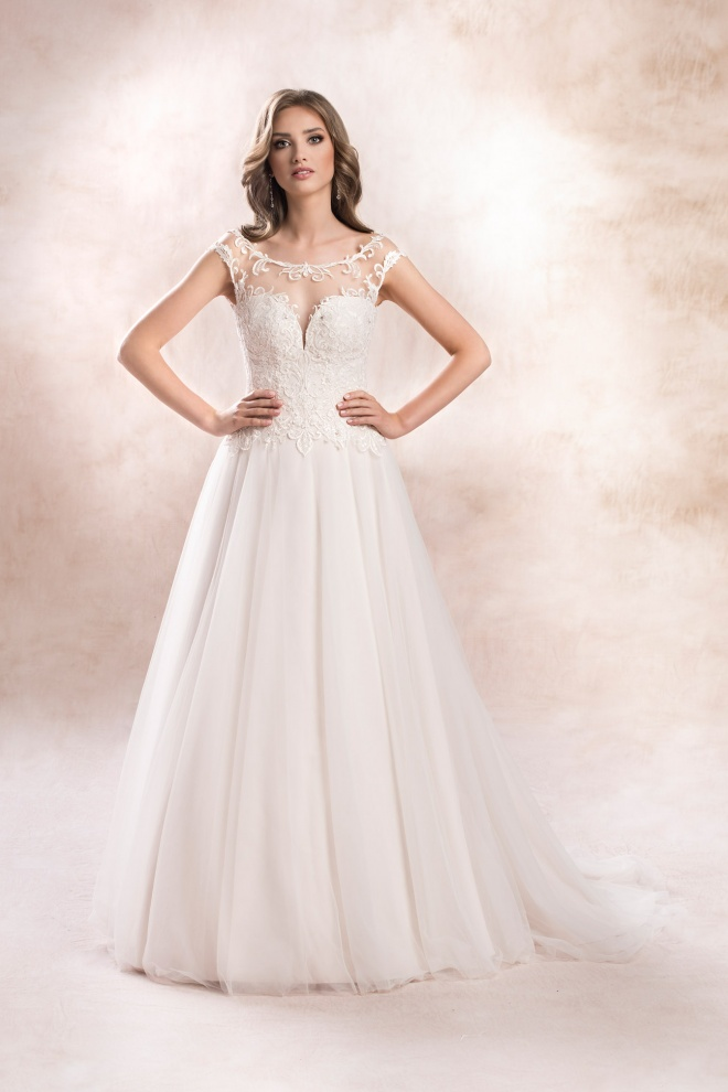 wedding dress KA-19168T Agnes Bridal Dream 2020