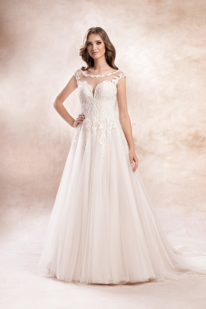 wedding dress KA-19175T Agnes Bridal Dream 2020