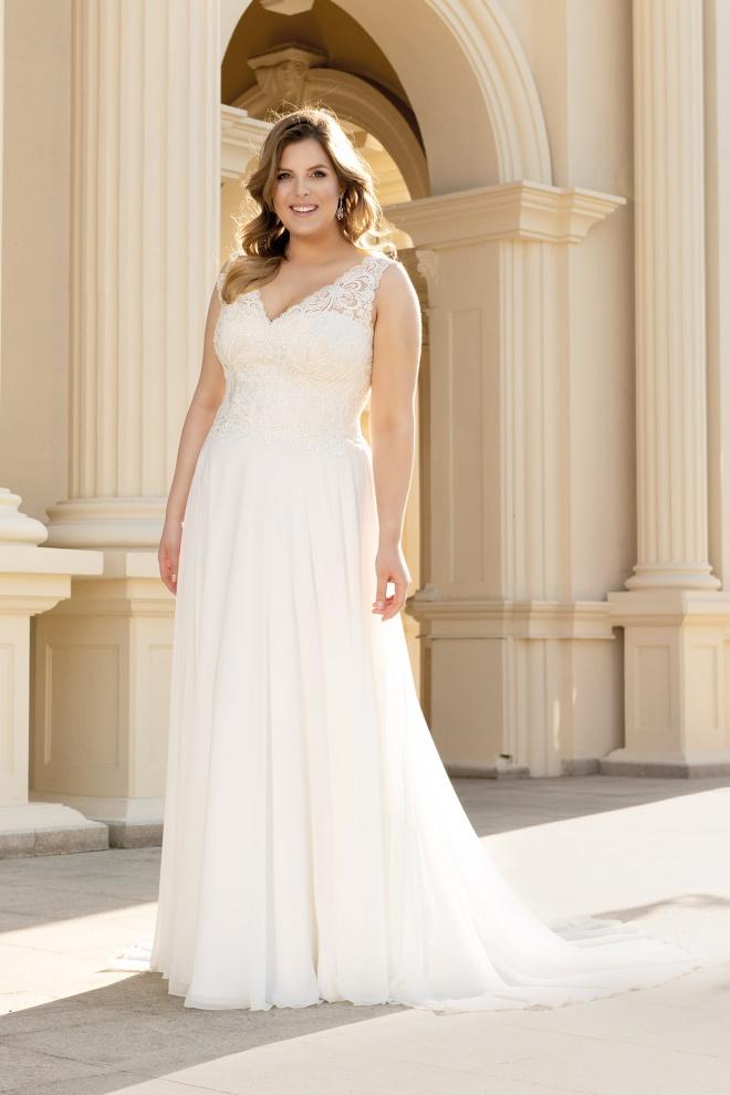 Suknia ślubna LO-124T Agnes