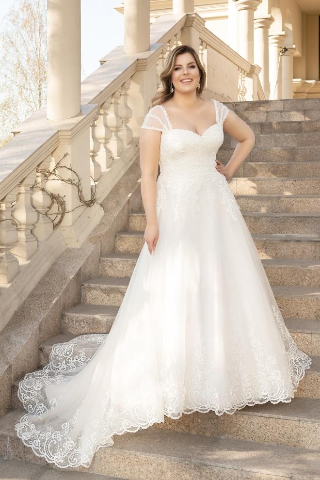 Suknia ślubna LO-132T Agnes