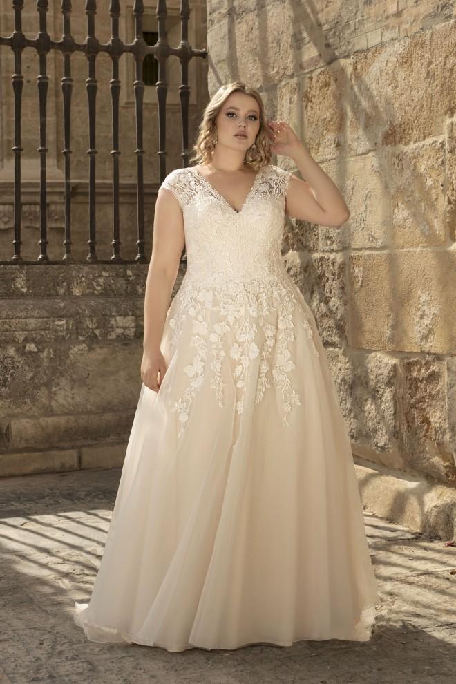 Suknia ślubna LO-194T Agnes