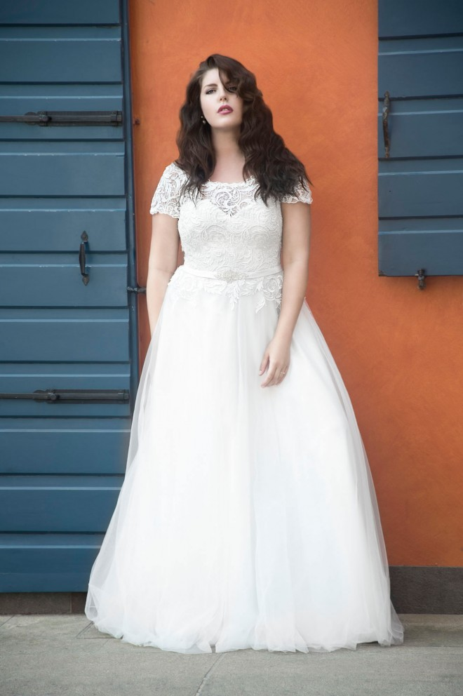 Lovely - Wedding dresses - Agnes - lace wedding dresses, Plus Size ...