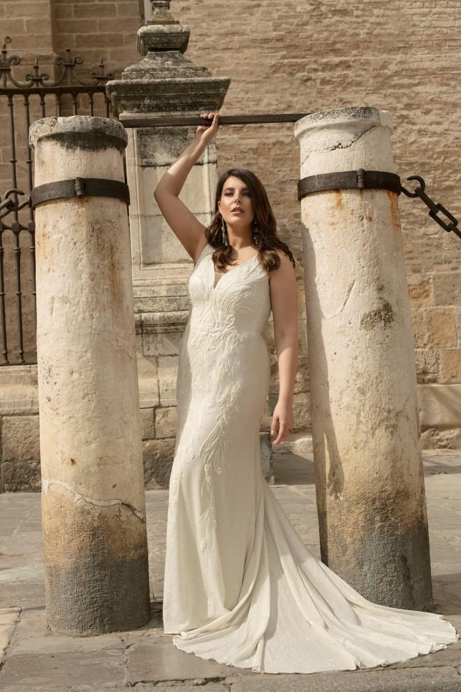 Suknia ślubna LO-230TR Agnes