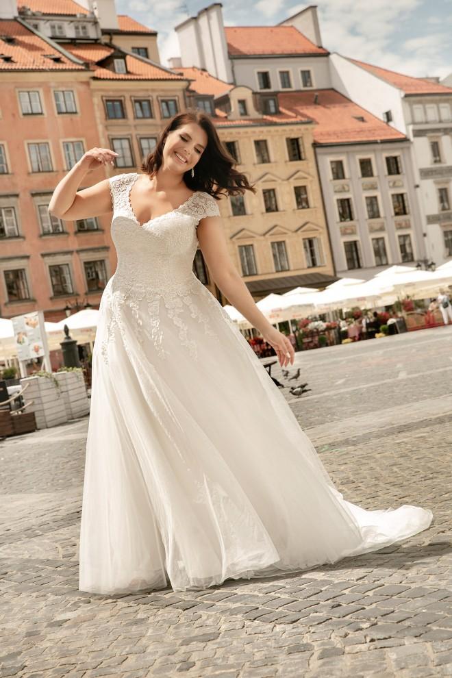 Suknia ślubna LO-264T Agnes