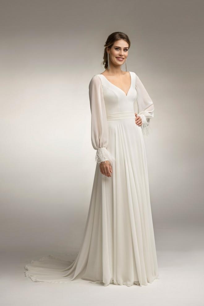 Suknia ślubna TO-1003T Agnes