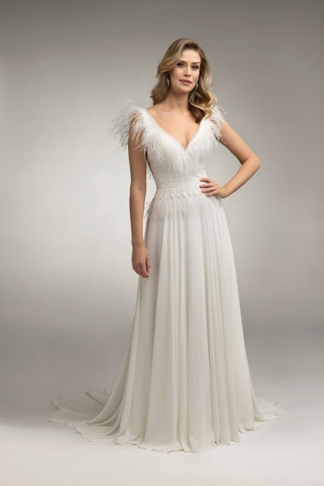 Suknia ślubna TO-1007T Agnes