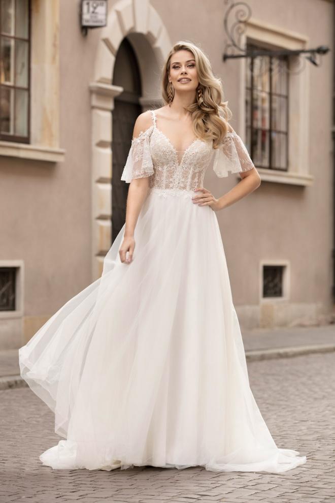 Suknia ślubna TO-1034T Agnes