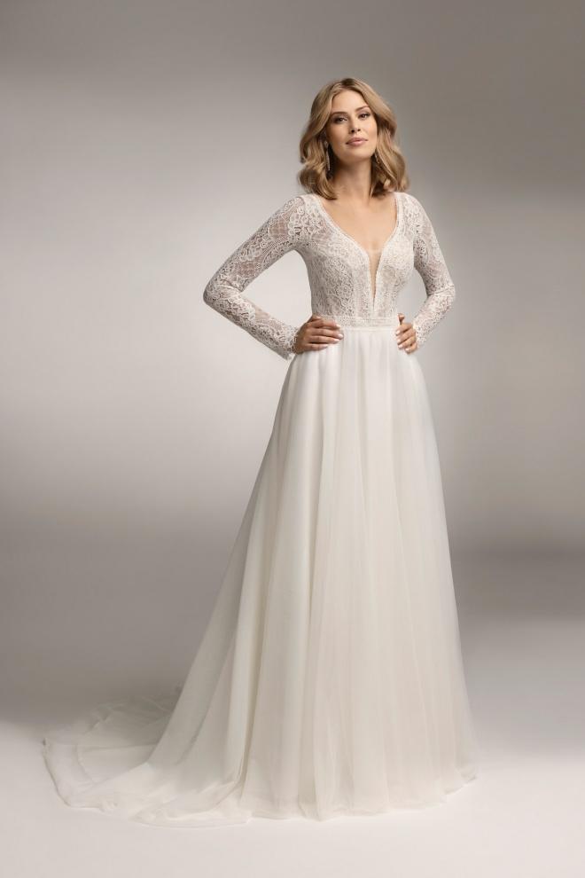 Suknia ślubna TO-1046T Agnes
