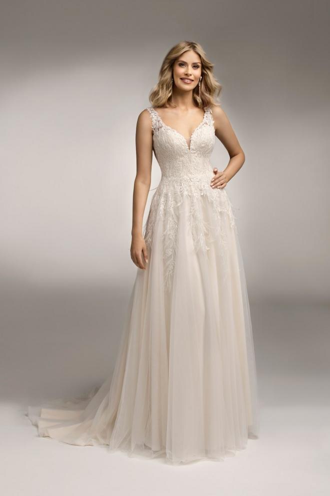Suknia ślubna TO-1048T Agnes