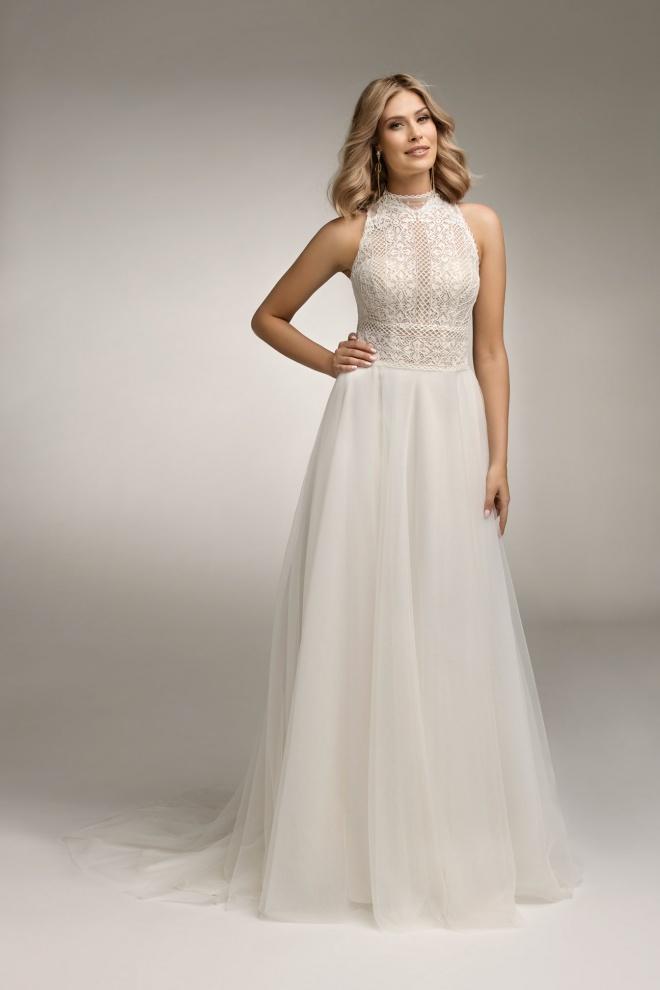 Suknia ślubna TO-1071T Agnes