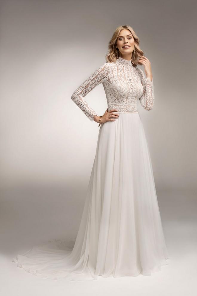Suknia ślubna TO-1072T Agnes
