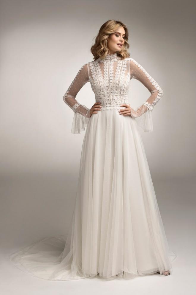 Suknia ślubna model TO-1073T Agnes
