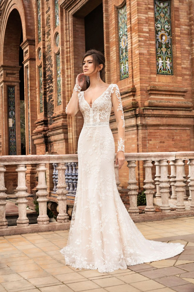 wedding dress TO-1096T The One 2021