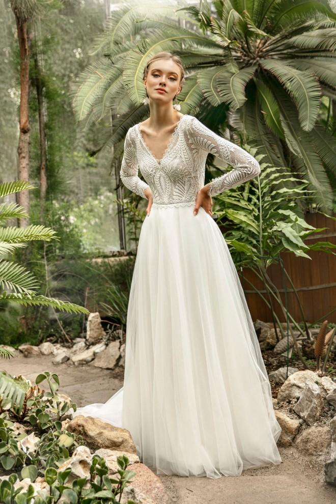 Suknia ślubna TO-1241T Agnes
