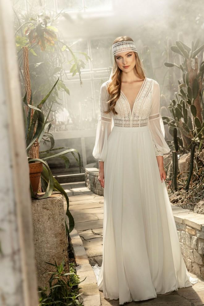 Suknia ślubna TO-1248T Agnes