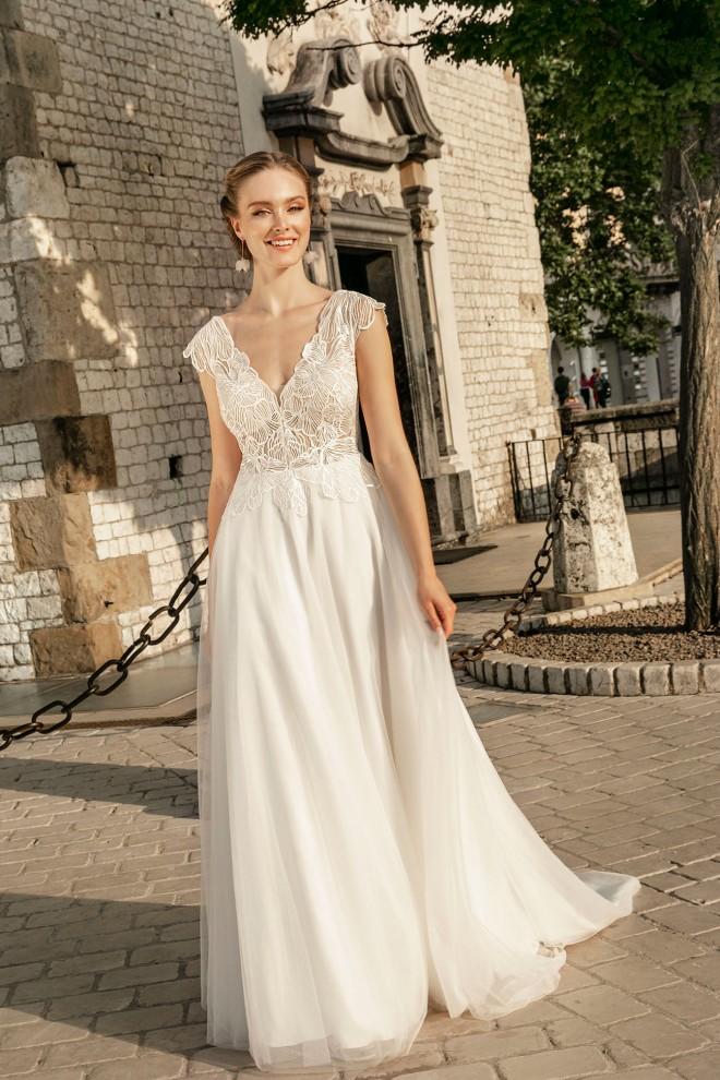 Suknia ślubna TO-1250T Agnes