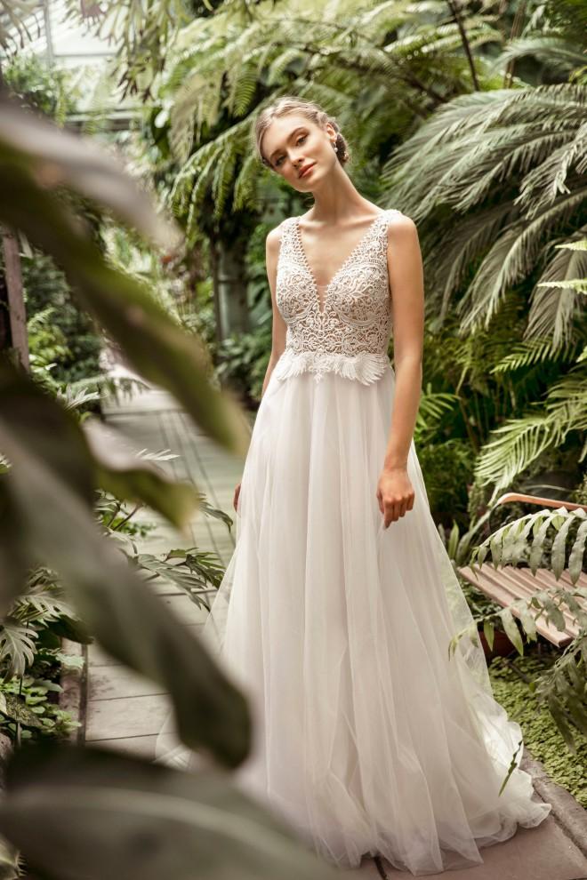 Suknia ślubna TO-1251T Agnes