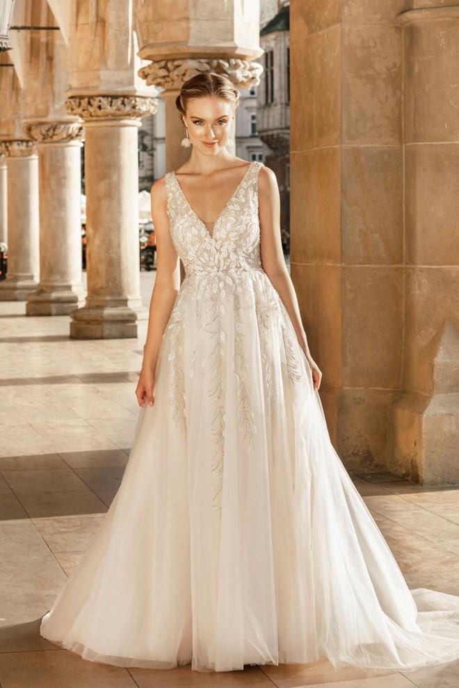 Suknia ślubna TO-1253T Agnes