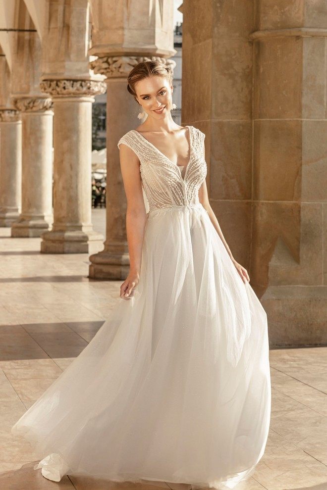 Suknia ślubna TO-1255T Agnes