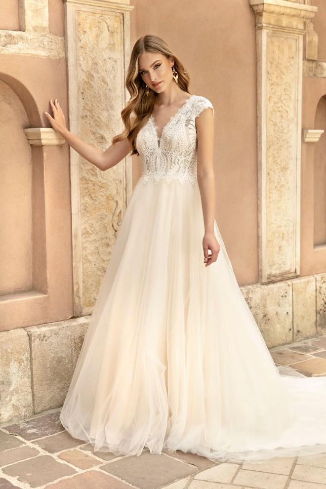 Suknia ślubna TO-1257T Agnes