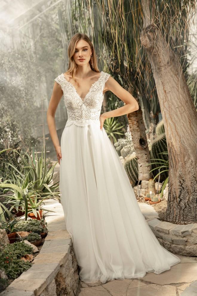 Suknia ślubna TO-1258T Agnes