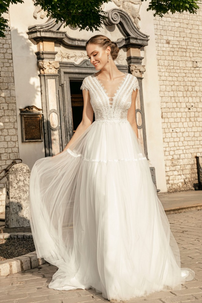 Suknia ślubna TO-1259T Agnes