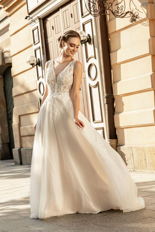 Suknia ślubna TO-1268T Agnes