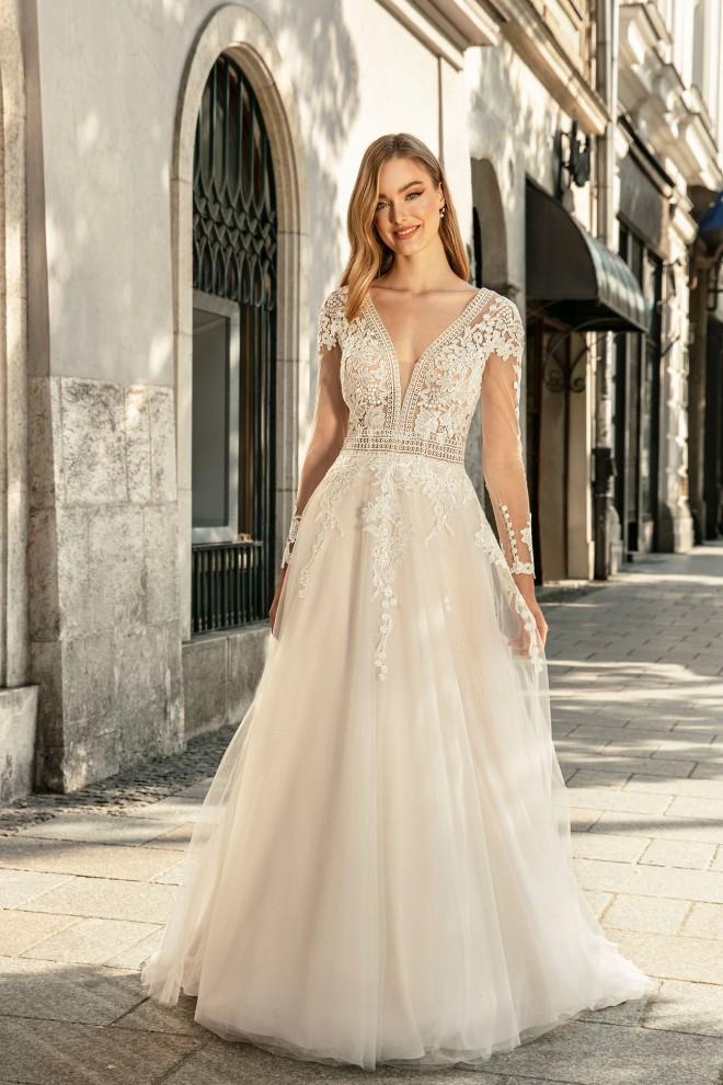 Suknia ślubna TO-1271T Agnes