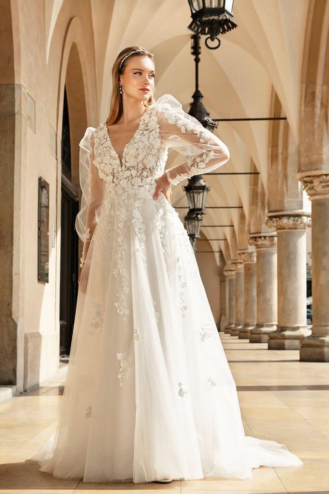 Suknia ślubna TO-1272T Agnes