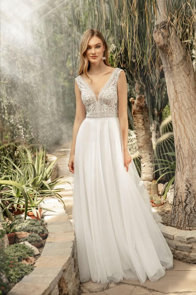 Suknia ślubna TO-1281T Agnes