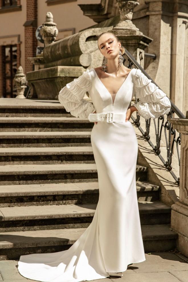 Suknia ślubna TO-1296T Agnes